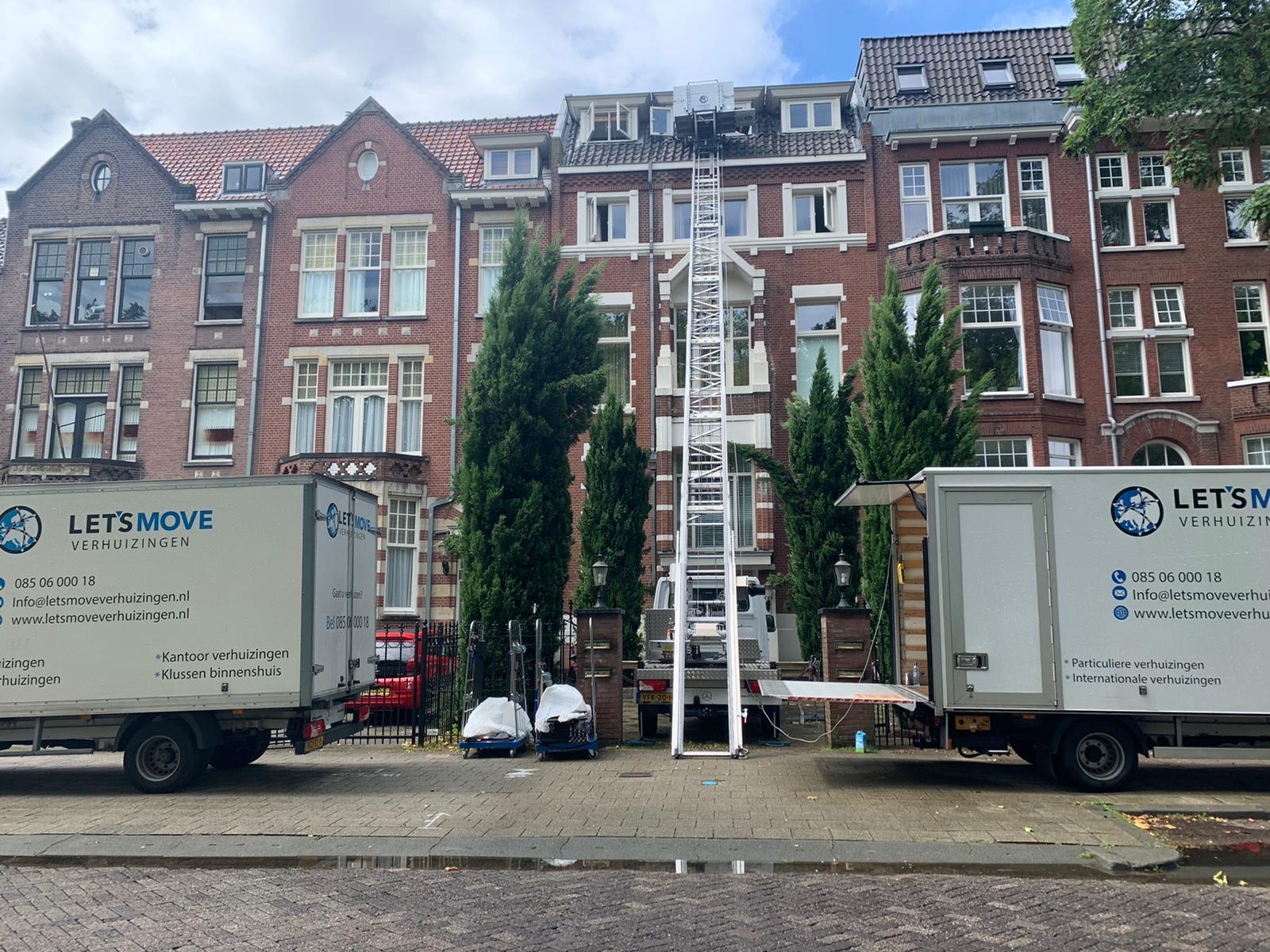Verhuislift in Rotterdam